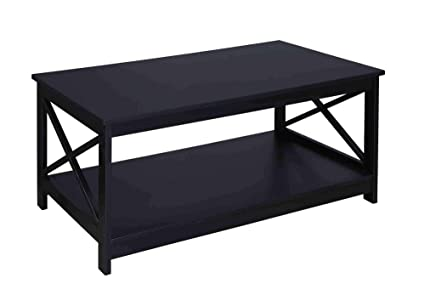 Surprising Convenience Concepts Oxford Coffee Table Black Caraccident5 Cool Chair Designs And Ideas Caraccident5Info