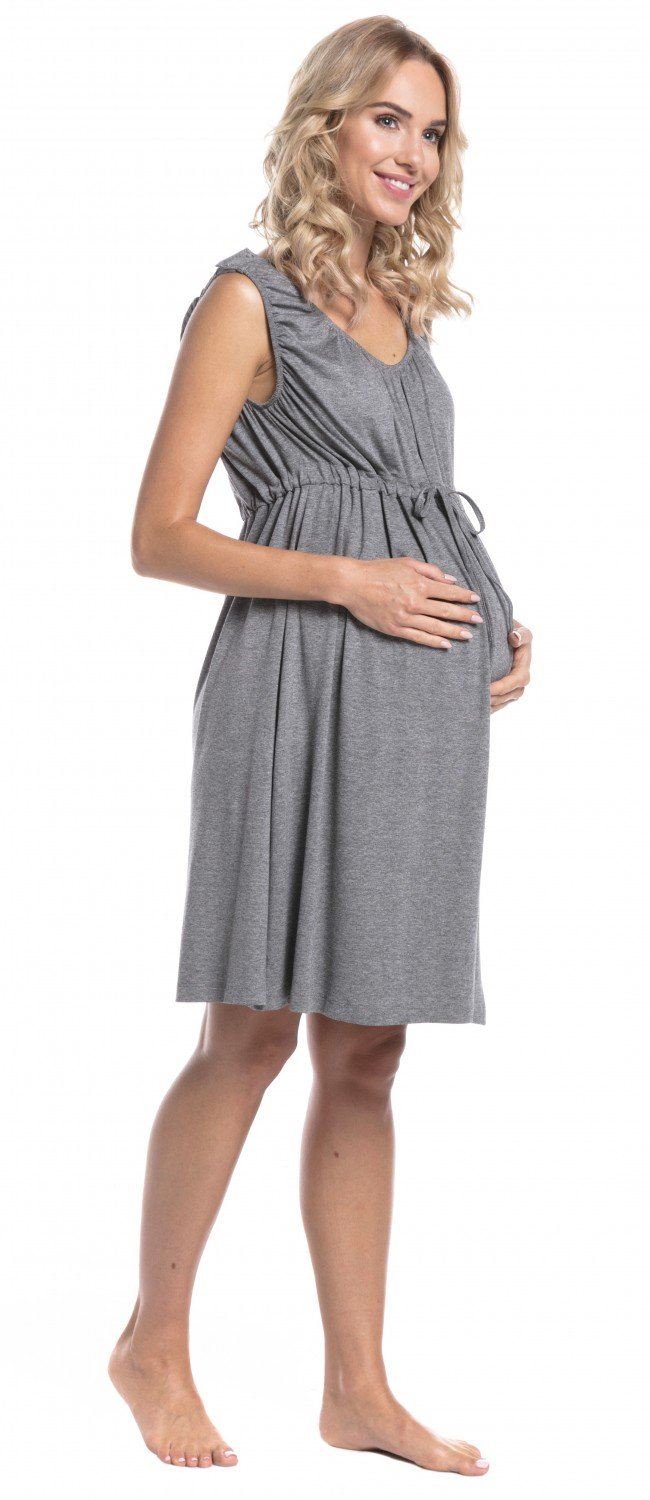 HAPPY MAMA Womens Labor Delivery Gown Breastfeeding Maternity. 118p ...