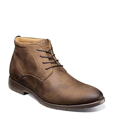 Florsheim Westside Plain Toe Chukka Boot Brown Crazy Horse 10.5 | Boots