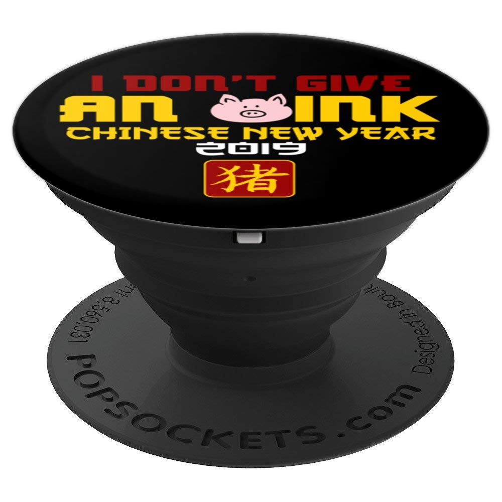 08d92ec47 Amazon.com: Chinese New Year Tradition Year of the Pig 2019 Gifts -  PopSockets Grip and Stand for Phones and Tablets: Cell Phones & Accessories