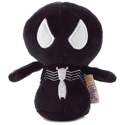 Hallmark itty bittys Symbiote Spider-Man Stuffed Animal, 2nd in Spider-Man Series: Toys & Games