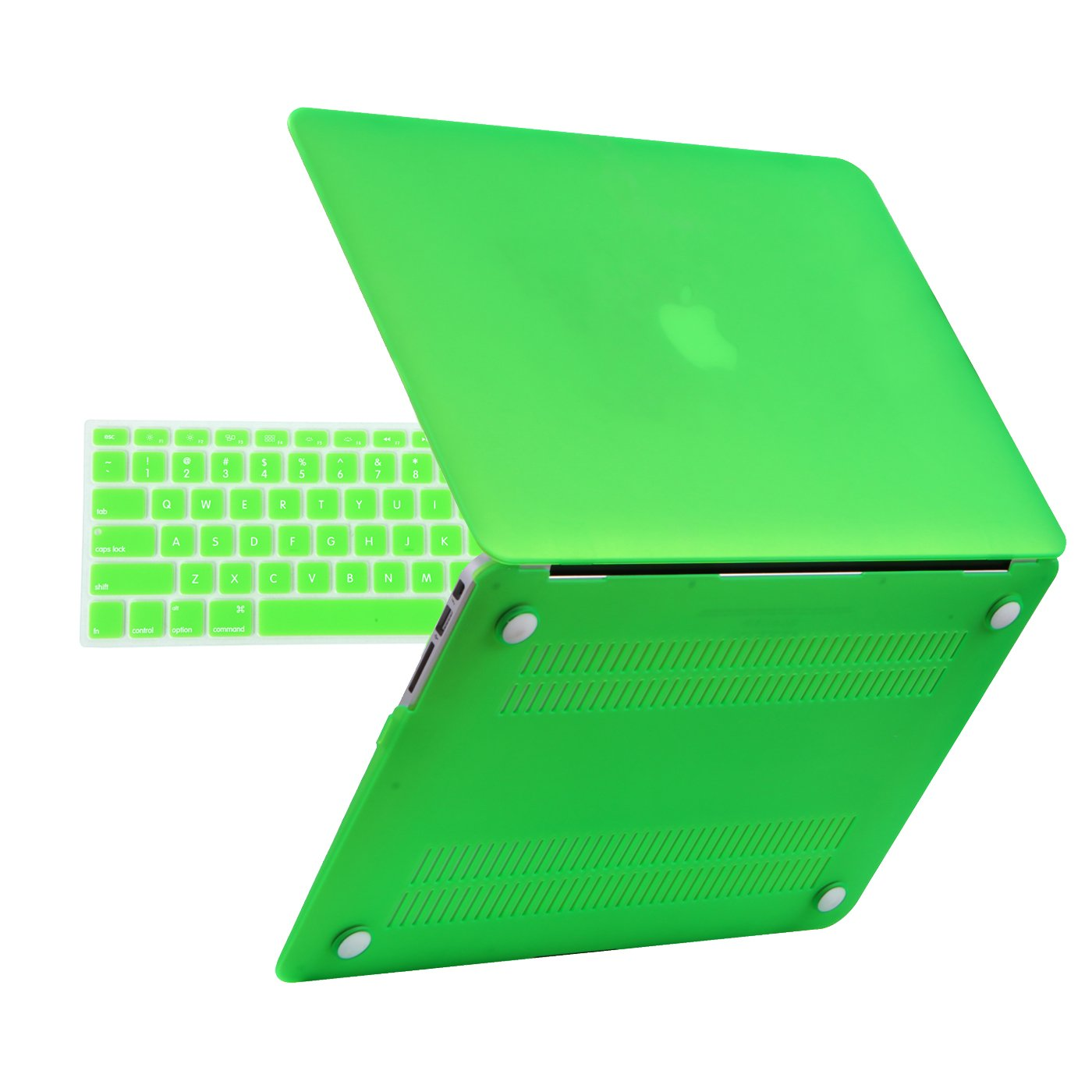 HDE Plastic Hard Shell Case for MacBook Air 13 Inch (Models: A1369/A1466), Green