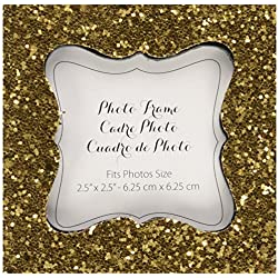 Kate Aspen, All That Glitters, Gold Photo Frame, Place Card Holder, Customizable
