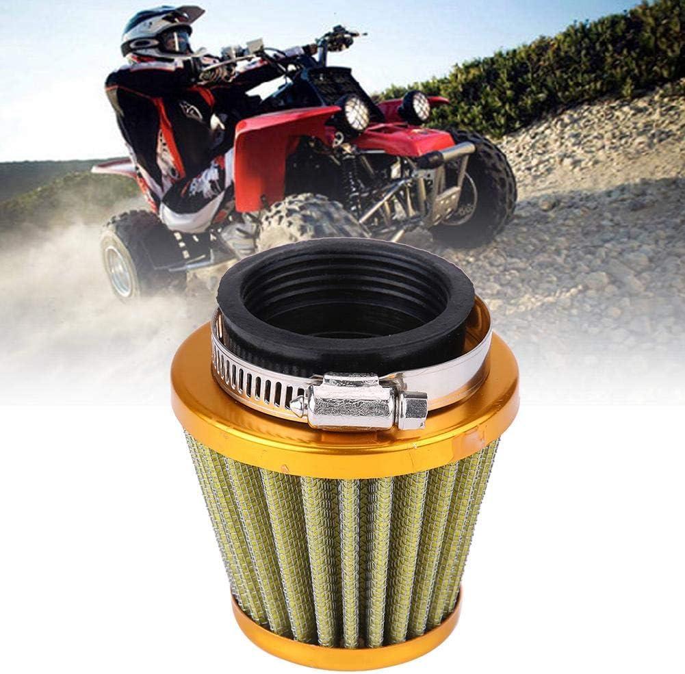 Duokon 44mm Motorrad Clamp On Luftansaugfilter Kit Rot Luftfilter f/ür Gy6 150ccm ATV Quad 4 Wheeler Go Kart Buggy Scooter Moped Hoher Fluss