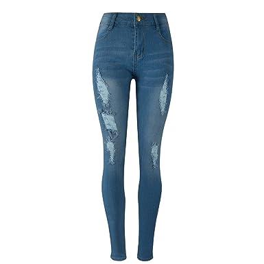 Jean Dechire Femme Pantalon Jeans Slim Beautyjourney Rn0wfq0