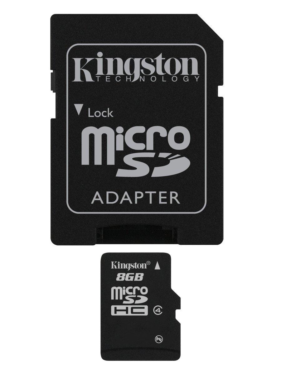 Kingston SDC GB Tarjeta microSD de GB color negro