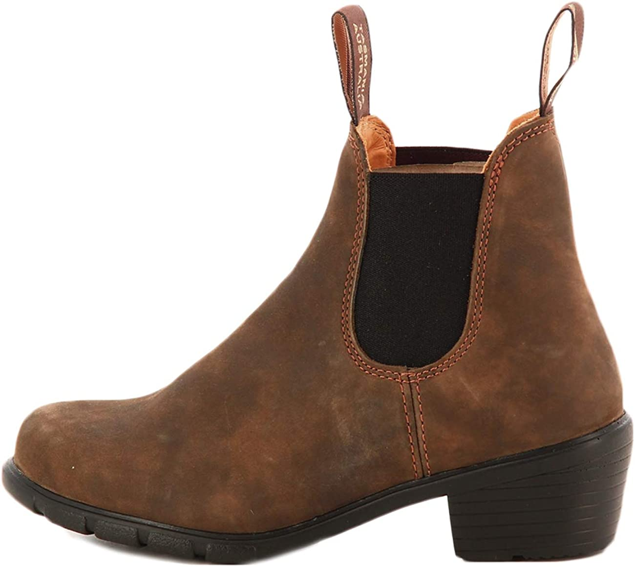 Leder  schwarz Blundstone 1671 Stiefellette Damen Chelsea Boots