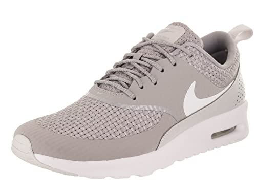 c2cf969912 Nike Women's WMNS AIR MAX THEA PRM Trainers, (Atmosphere Vast Grey/White 023