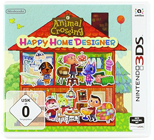 3DS Animal Crossing Happy Home Designer (Nintendo 3ds Power Case)
