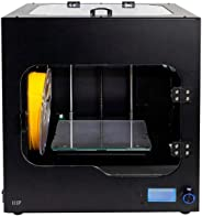 Monoprice Maker Ultimate 2 3D Printer - with (200 x 150 x 150 mm) Heated and Removable Glass Built Plate, Auto Bed Leveling,
