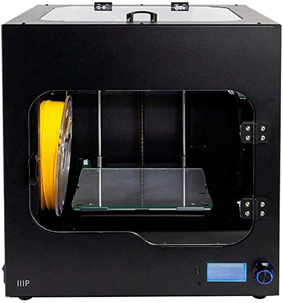 Monoprice Maker Ultimate 2 3D Printer - with (200 x 150 x 150 mm) Heated and Removable Glass Built Plate