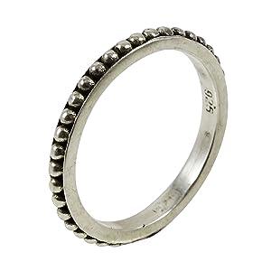 Banithani 925 Sterling Silver Beautiful Women Ring Band Casual Fashion Jewelry