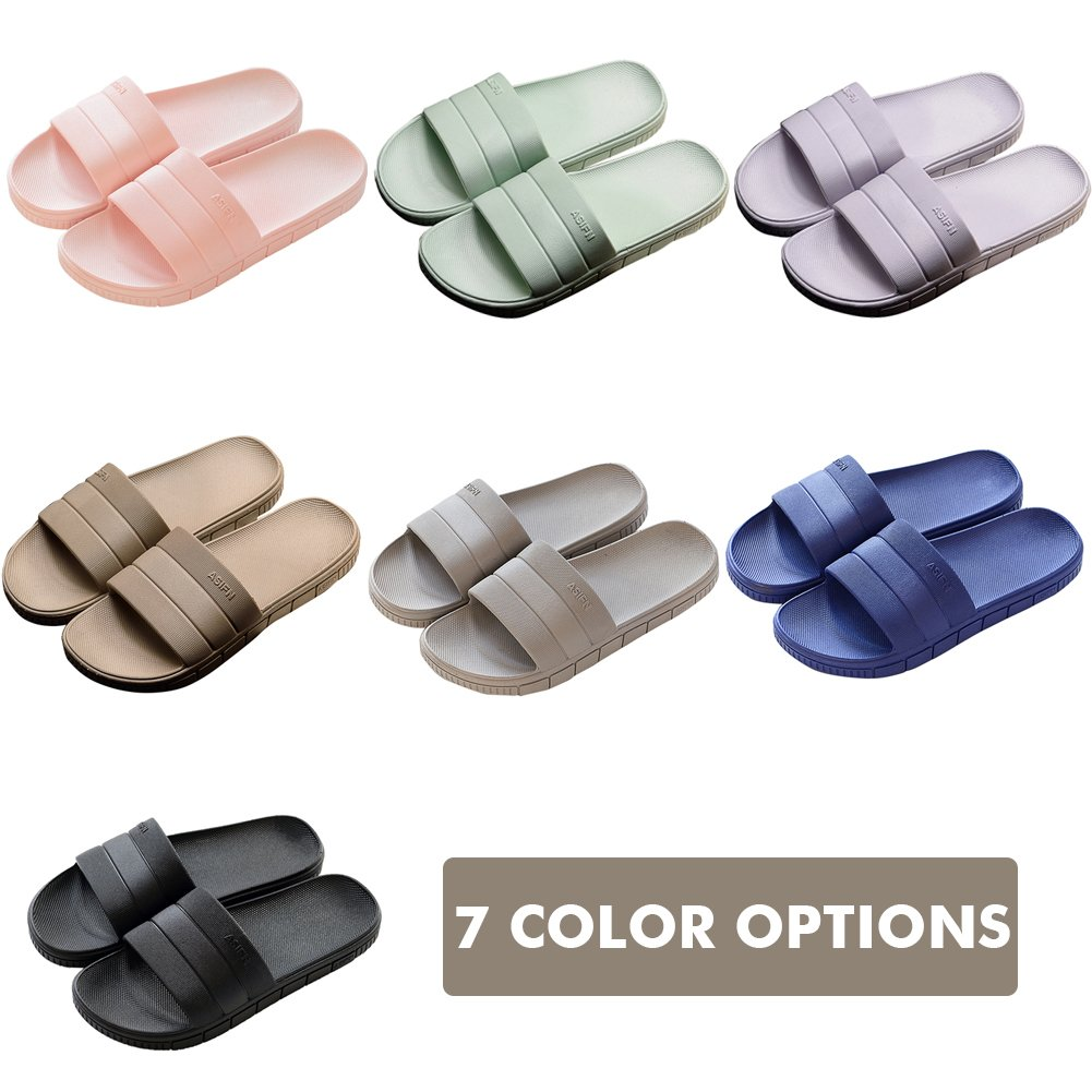 INFLATION Bath Slipper UnisexNon-Slip Open Toe Women Men Shower Sandals Indoor Anti-Slip Home Slippers by INFLATION (Image #8)
