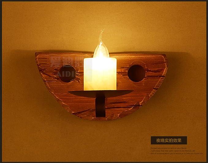 Illuminazioni per pareti retro vintage nave corridoio di legno net