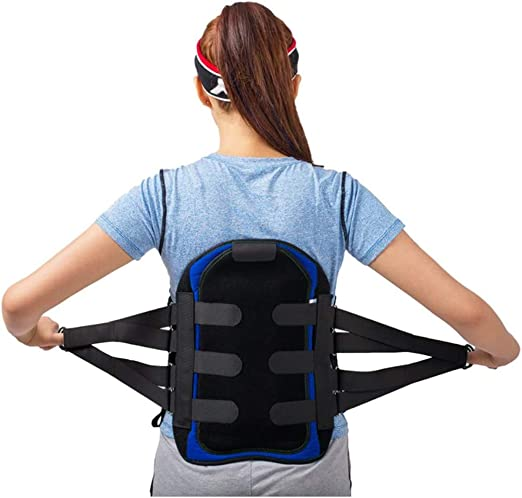 tjz Lumbar Sacral Back Brace, Belt LSO Brace, Adjustable Lumbos Acral Corset Spinal Orthosis Support, Relief for Back Pain, Herniated Disc, Sciatica for Men and Women