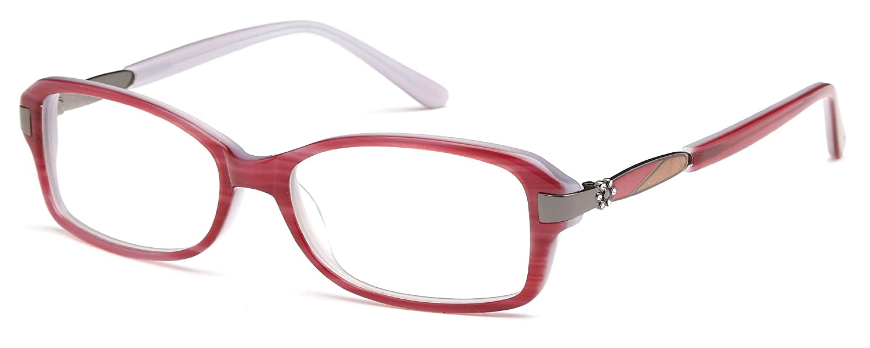 50b113418f Amazon.com  Women s Square Black Glasses Frames Prescription Eyeglasses  Size 53-16-135  Clothing