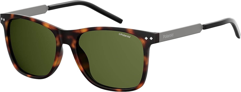 Polaroid PLD 1028/S UC N9P 55 gafas de sol, Marrón (Matt Havana/Green Pz), Hombre