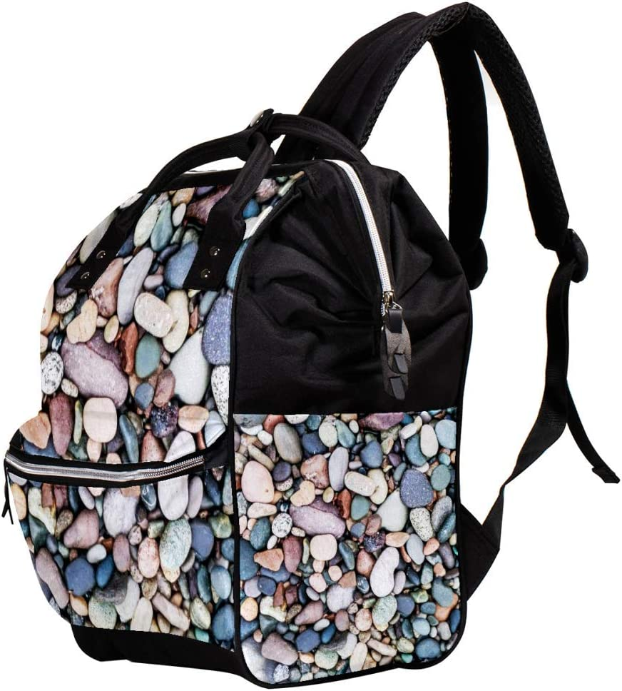 Indimization Multicolored Stone Casual Daypack Leather Backpacks,Fashion Travel School Bag,College Student Bags for Boys /& Girls Holds 27x19.8x36.5cm//10.6x7.8x14in