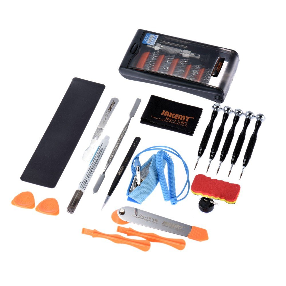JAKEMY JM-P13 Professional Disassembling Repair Opening Tool Set for Apple Huawei Smartphone Camera Computer