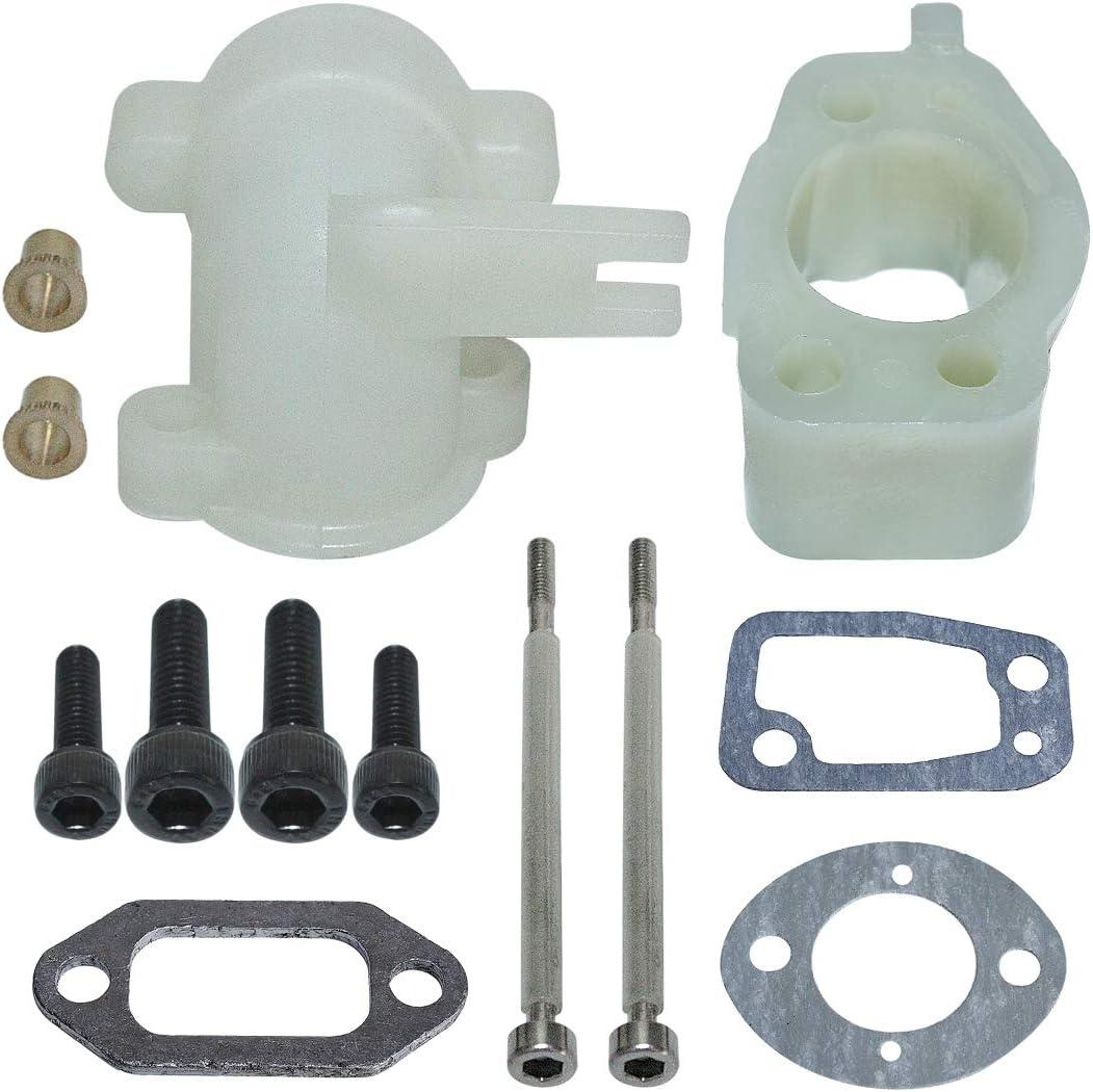 For Husqvarna 61 268 272 Intake Elbow Manifold Carburetor Bolt Kit Parts