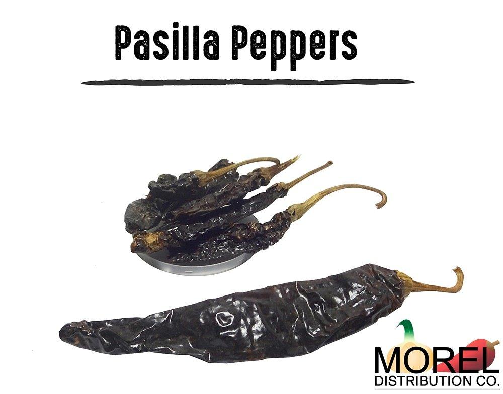 Chile Pasilla Pepper (Pasilla Negro) // Weights: 4 Oz, 8 Oz, 12 Oz, 1 Lb, 2 lbs, 5 lbs, and 10 lbs!! (1 lb)