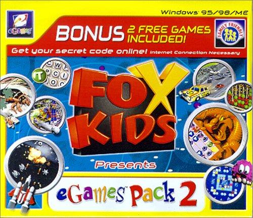 Fox Kids: Egames Fun Pack #2 (Jewel Case) - PC