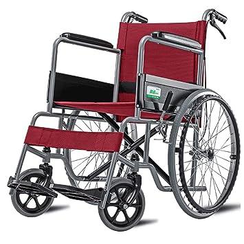 DPPAN Drive Medical Transport Silla de ruedas Tubo de acero ligero, plegable y resistente para