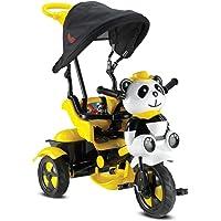Babyhope Little Panda Bisiklet Sarý Siyah