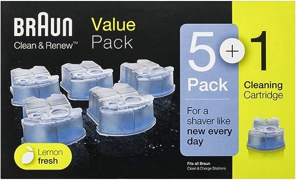 Braun Clean&Renew CCR - Pack de cartuchos de limpiador para ...