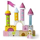 Wooden Wonders Princess Pine's Divine Block Castle (22pcs.) by Imagination Generation