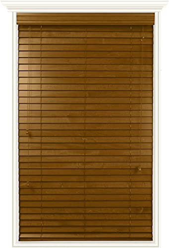 Luxr Blinds Custom-Made Real Wood Horizontal Window Blind