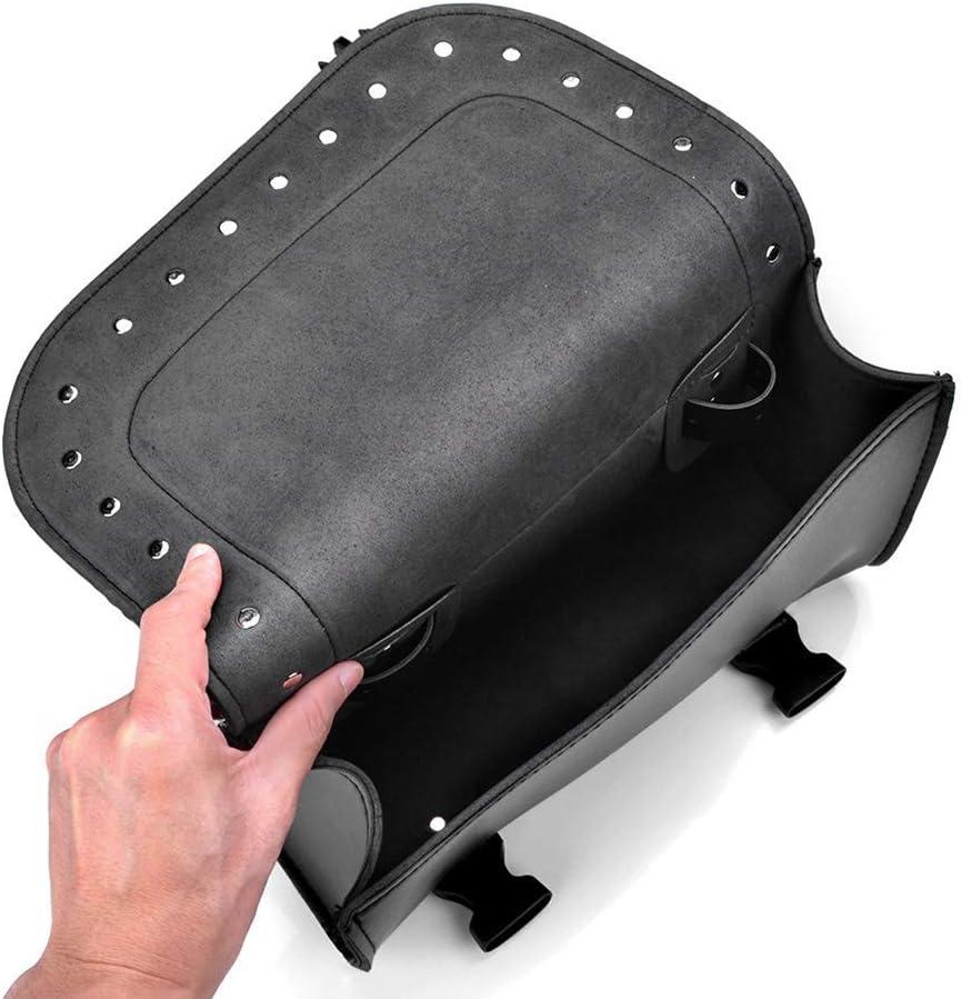 TE hot Sacoche de Moto Sac en Cuir Sac Bagages sacoches de Selle pour Sacoche de Selle lat/érale Sacoche Harley Sportster