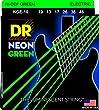DR Strings NGE-10  Coated Nickel Electric Guitar Strings, Medium