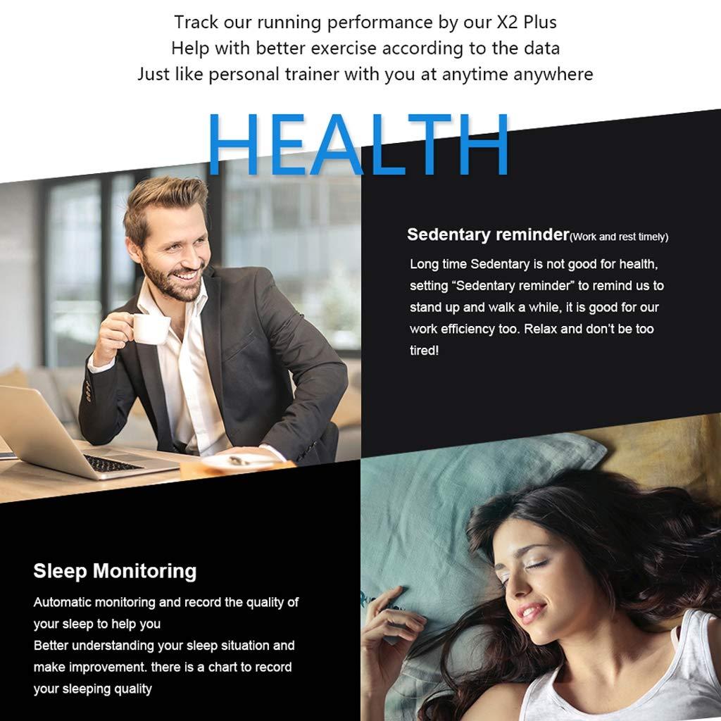 WLPT Smartwatch Resistente al Agua, rastreador de Ritmo cardíaco ...