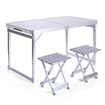 huanle Tablas y sillas Plegables Tablas de mesas Plegables ...