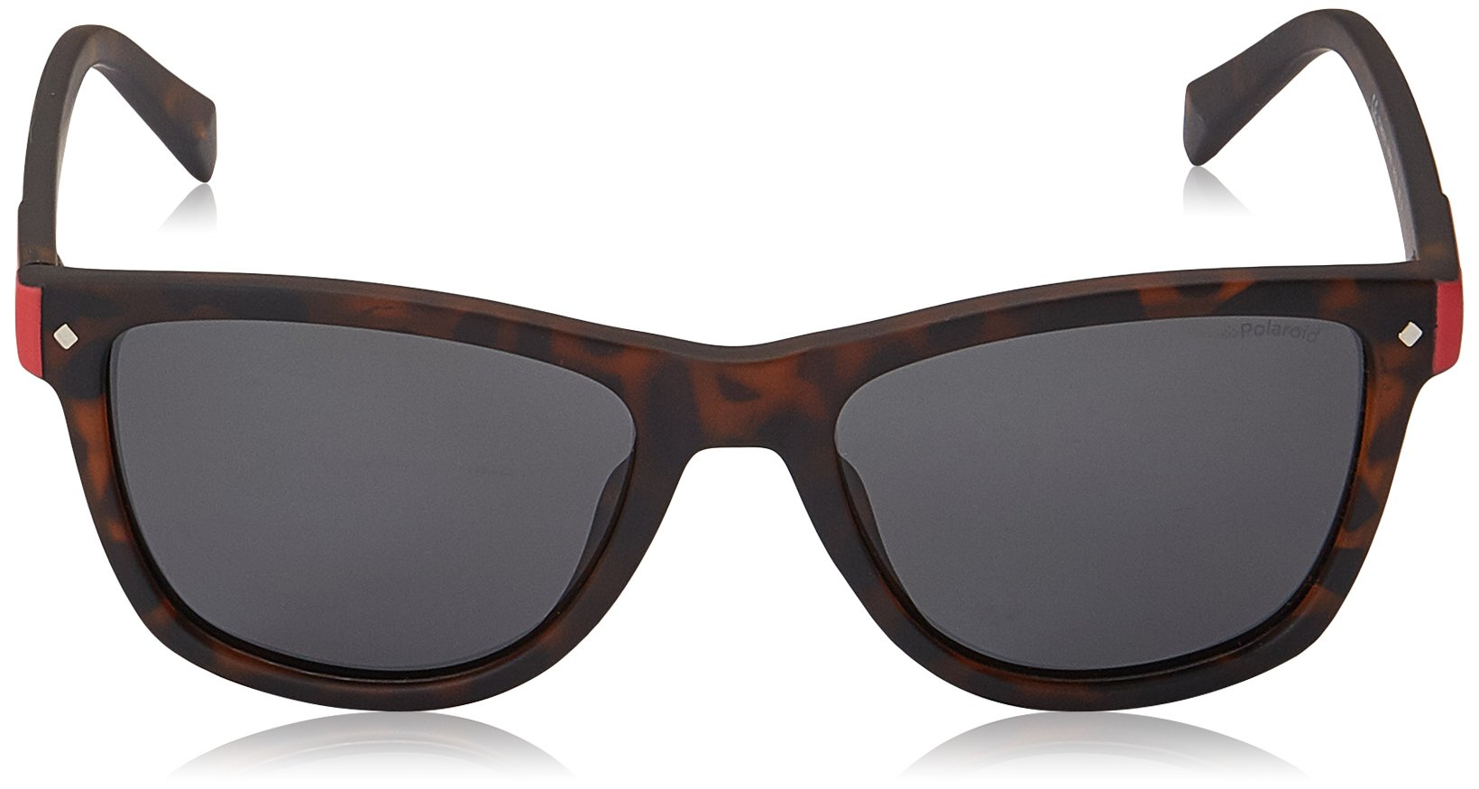 Polaroid Sunglasses Girls' Pld8025s Polarized Rectangular Sunglasses, MATT HVNA, 48 mm by Polaroid Sunglasses (Image #2)