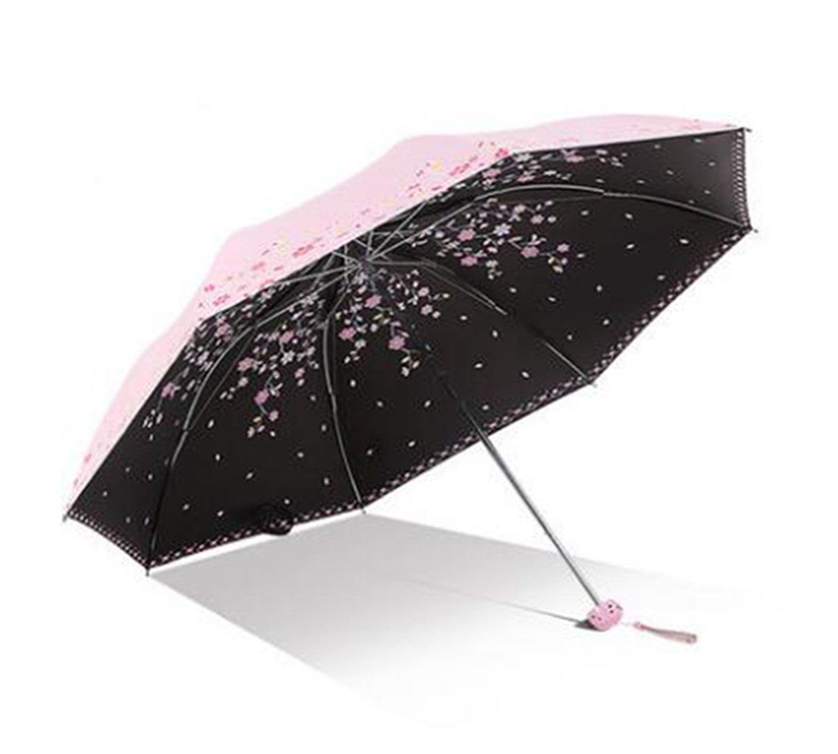 TysLDss Paradise Paraguas, sombrillas, protección Solar, protección UV, sombrillas, Ultraligero, Clima, Paraguas Plegable,Estilo C: Amazon.es: Deportes y ...