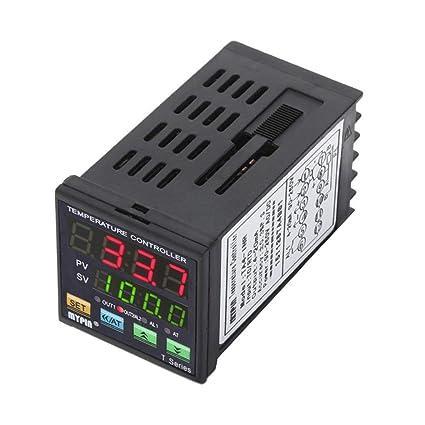 Kongnijiwa Temperatura PID Controlador Digital de 4-20 MA analógica de Salida de Alarma del