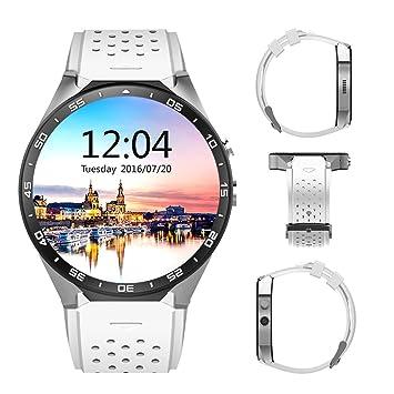 Reloj inteligente 3G, teléfono celular Bluetooth todo en uno Reloj inteligente Android 5.1 OS,