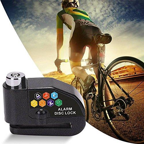 FidgetGear Bike Bicycle Motorcycle Scooter Anti-theft Brake Disc Security Alarm Lock + Keys by FidgetGear
