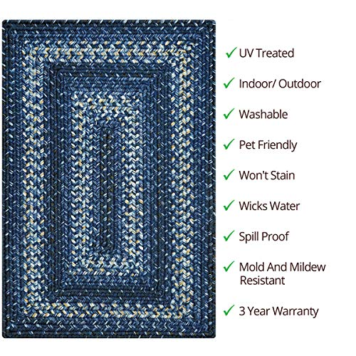 Homespice - 4 x 6' Navy Rect. by Homespice (Image #1)