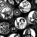 Best Star Wars Star 100 Stocks - 1/2 Yard - Star Wars Hero Circles White Review