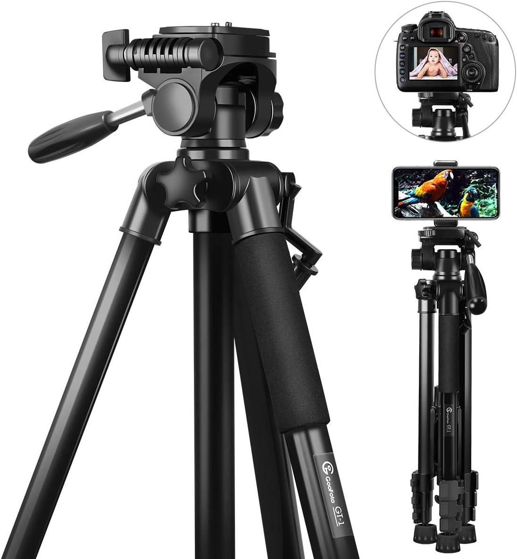 Stativ Kamera Goofoto 148cm Leichtes Kamera
