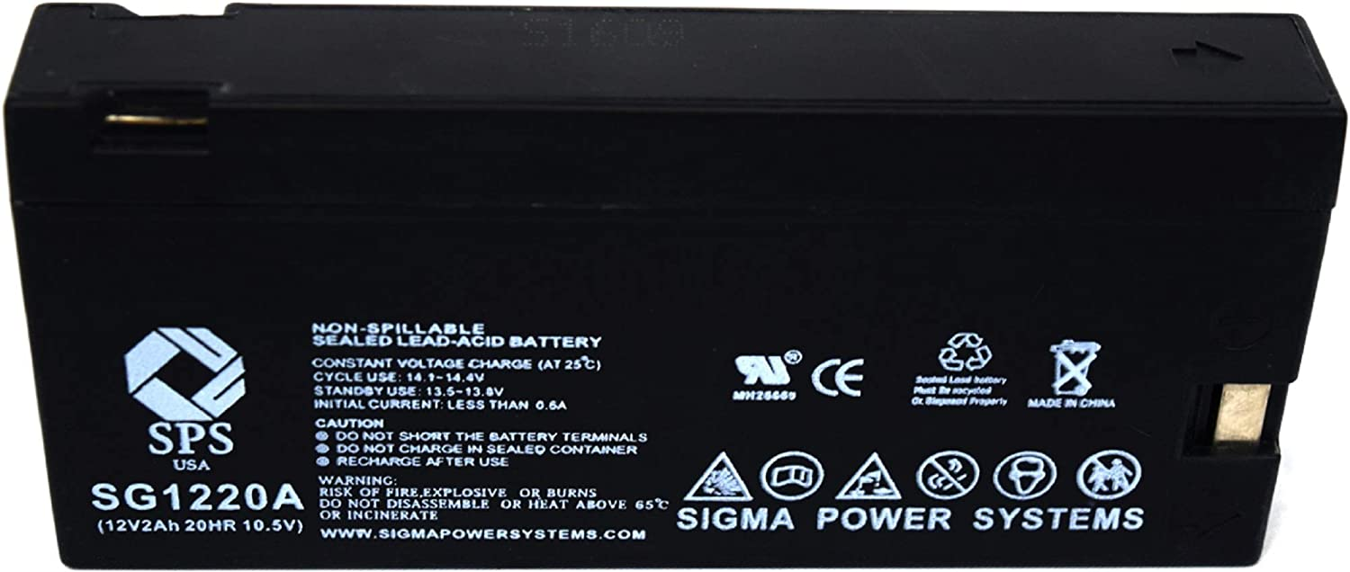 Amazon Com Sps Brand 12v 2ah Replacement For Panasonic Camcorders Omnimovie Vhs Afx8 Camcorder Battery 1 Pack Home Audio Theater