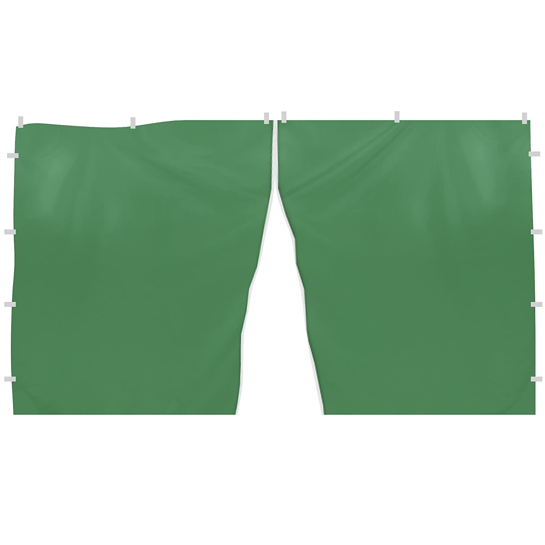 JAROLIFT Componente laterale Finestra per Gazebo 295 x 195cm, verde