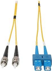 Tripp Lite Duplex Singlemode 8.3/125 Fiber Patch Cable (SC/ST), 3M (10-ft.)(N354-03M)