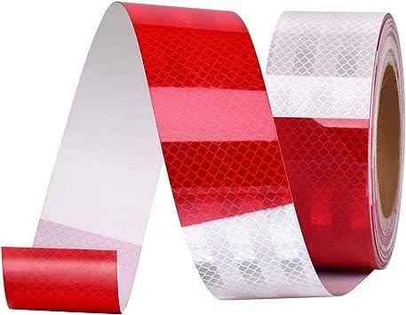 Fast Warning Tape 5x Reflective Bicycle Safety Sticker Bike Helmut Trailer