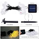 2 Pack Solar String Lights - Waterproof Outdoor