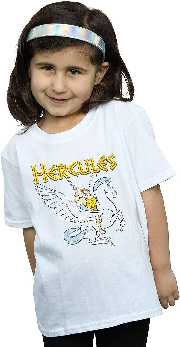 Disney Ni/ñas Hercules with Pegasus Camiseta