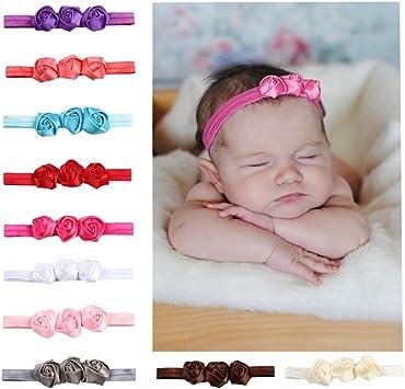 Baby Turban Schleife Haarband Neugeborene Baby Kleinkinder M/ädchen Haar Band,Bogen Headwrap Elastisches Kaninchen Ohr Hairband F/ür Neugeborenes Kleinkind